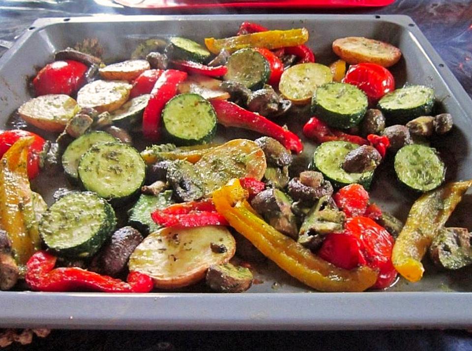 запеченные овощи в духовке рецепт на зиму