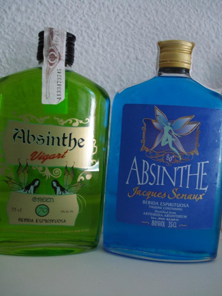 Из чего делают абсент зеленый