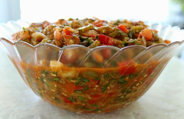 ᐉ Армянский салат из печеных овощей — рецепт с фото пошагово ...