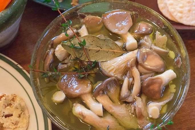Маринованные грибы рецепт быстрого приготовления маховиков