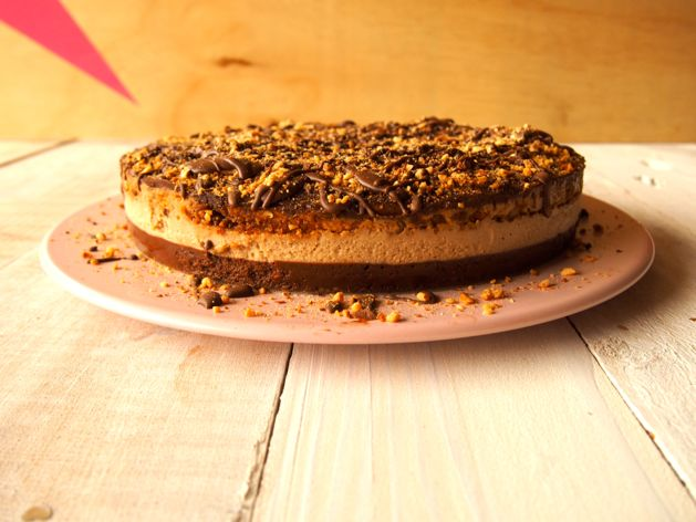 как сделать сникерс торт